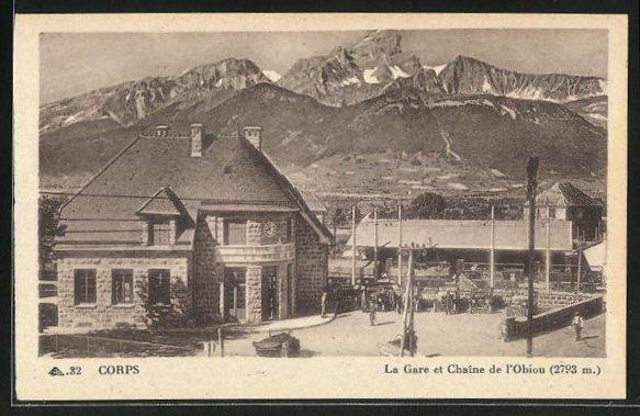 AK Corps, La Gare et Chaine de l'Obiou 0