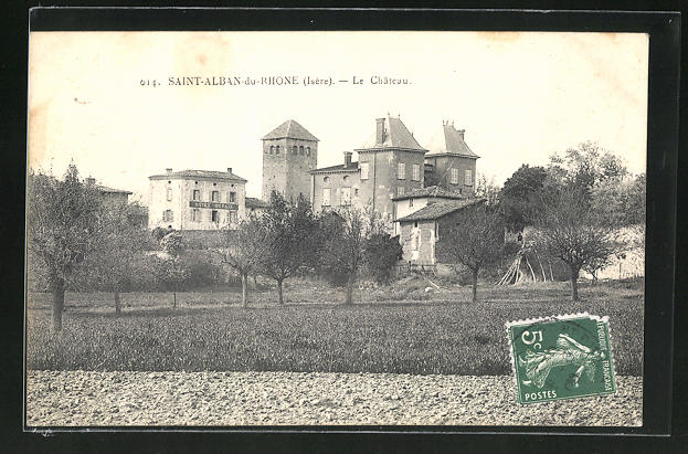 AK Saint-Albin-du-Rhone, Le Chateau 0