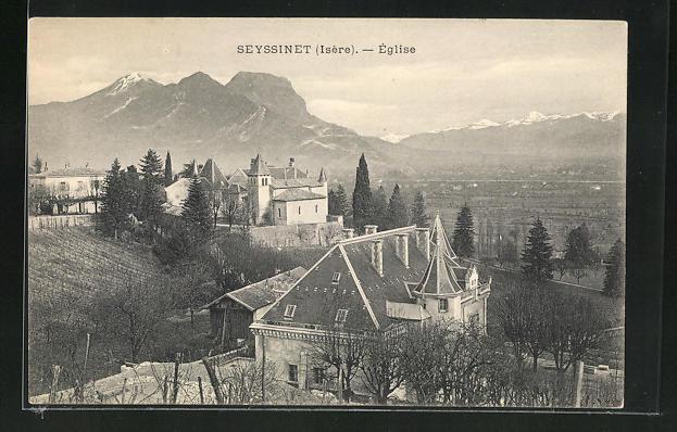 AK Seyssinet, L'Eglise 0