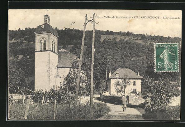 AK Villard-Bonnot, L'Eglise ronde