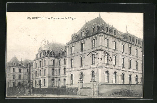 AK Grenoble, Pensionnat de l'Aigle 0