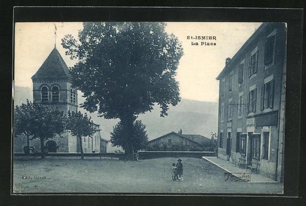 AK St-Ismier, La Place et l'Eglise 0