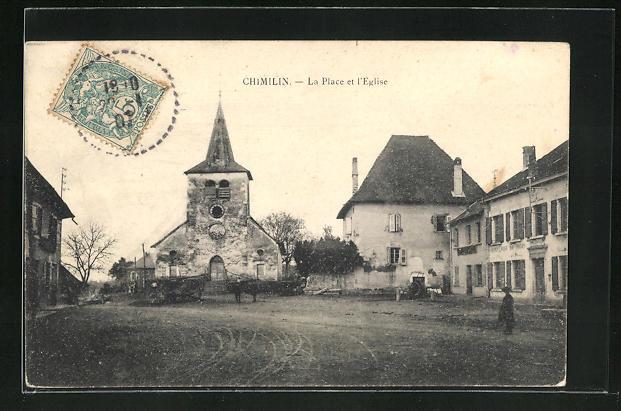 AK Chimilin, La Place et l'Eglise 0
