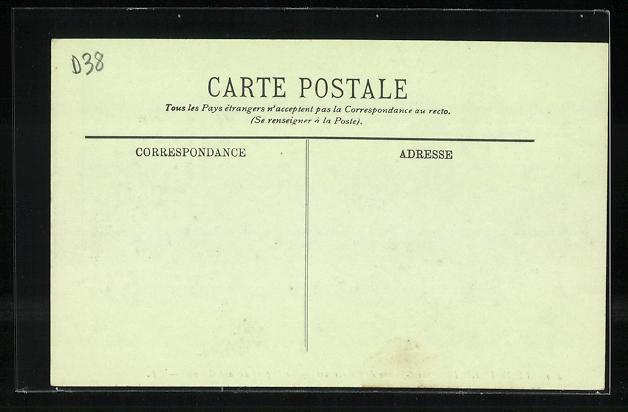 AK Saint-Pierre-de-Chartreuse, Le Depart de la Diligence 1