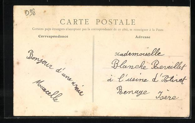 AK Brignoud, Les Papeteries Fredet 1