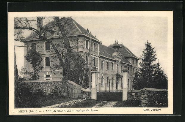 AK Mens, Les Alouettes, Maison de Repos 0