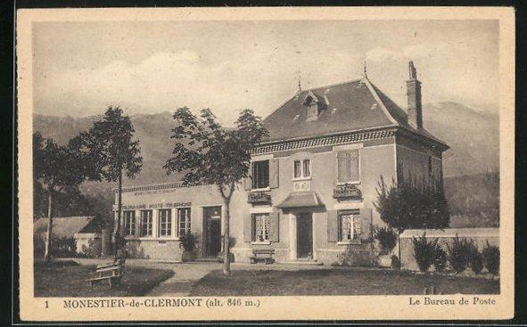 AK Monestier-de-Clermont, Le Bureau de Poste 0