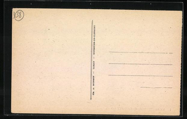 AK Monestier-de-Clermont, Le Bureau de Poste 1