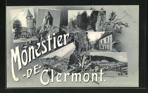 AK Monastier-de-Clermont, L'Eglise, vue generale 0