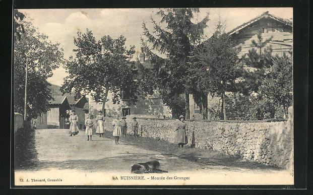 AK La Buissiere, Montee des Granges 0