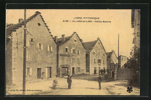 AK Villard-de-Lans, Vieilles Maisons 0