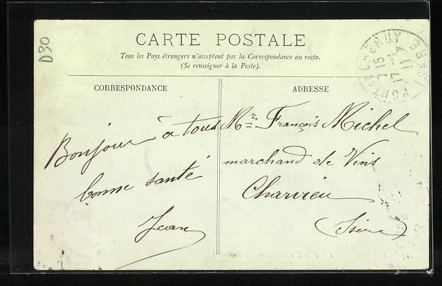 AK Vizille, La Grande Rue du Chateau du Roi, Strassenpartie 1