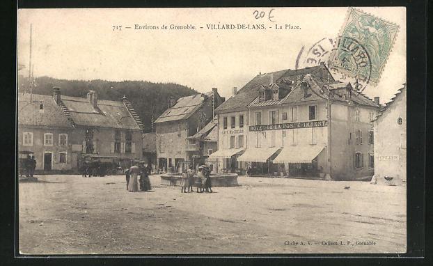 AK Villard-de-Lans, La Place 0