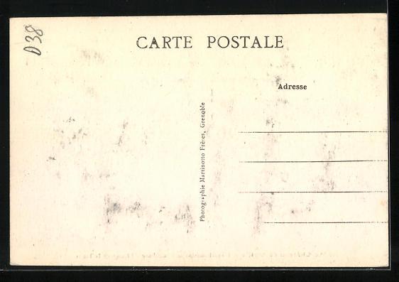 AK Vizille, Le Chateau, L`Etablissement de Pisciculture, Elevage de la Truite, Innenansicht 1
