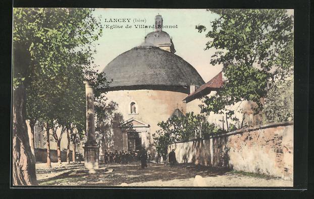AK Lancey, L`Eglise de Villard-Bonnot 0