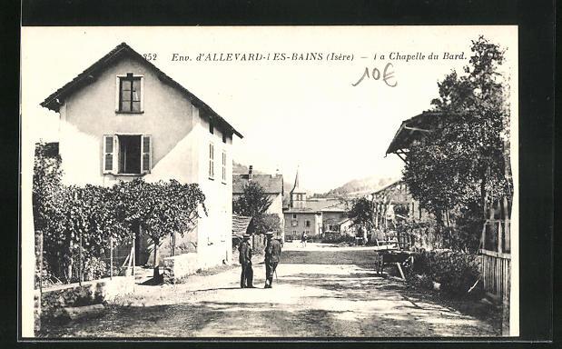 AK Allevard-les-Bains, La Chapelle du Bard 0