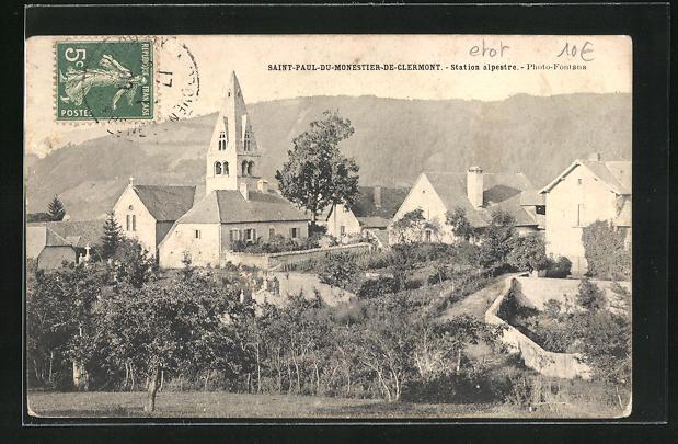AK Saint-Paul-du-Monestier-de-Clermont, Station alpestre