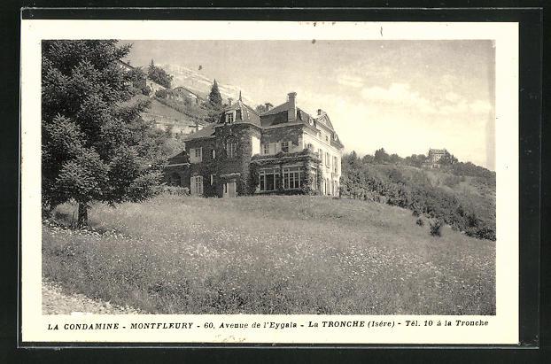 AK La Tronche, La Condamine-Montfleury, 60, Avenue de l`Eygala 0