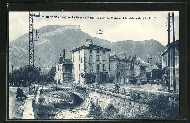 AK Voreppe, Le Pont de Roize, la dent de Mairans et le plateau de St-Ours