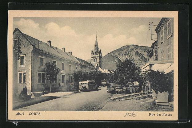 AK Corps, Eglise dans la Rue des Fosses