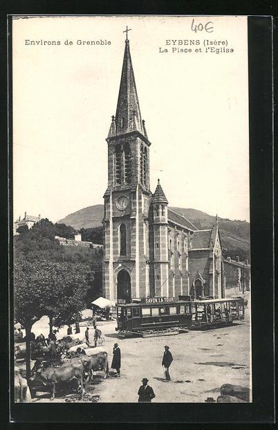 AK Eybens, La Place et l'Eglise