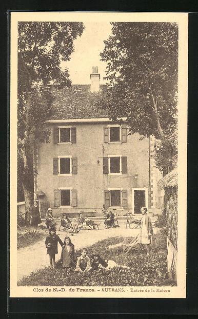 AK Autrans, Clos de N.-D. de France - Entrée de la Maison