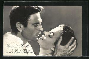 AK Schauspieler Raf Vallone und Carmen Sevilla in Die Rache