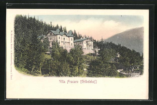 AK Lienz, Hotel Gribelehof, Villa Fracaro