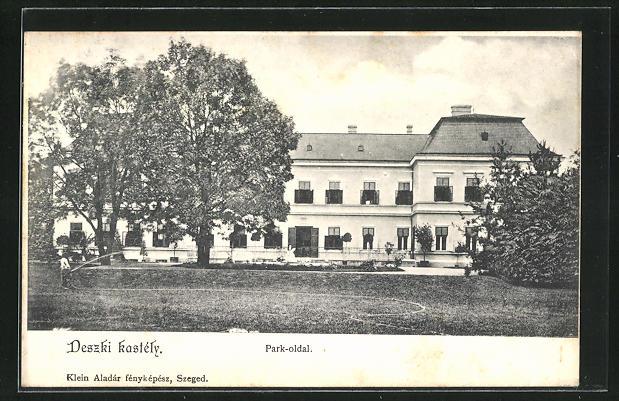 AK Deszk, Deszki kastély, Park-oldal