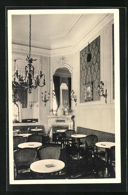 AK Wien, Hotel Sacher, Kaffee-Salon