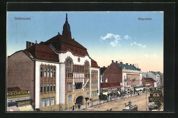 AK Debrecen / Debreczin, Megyehaza