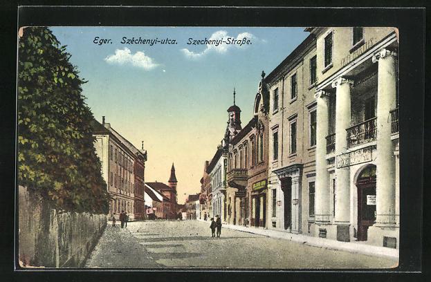 AK Eger, Szechenyi-Strasse