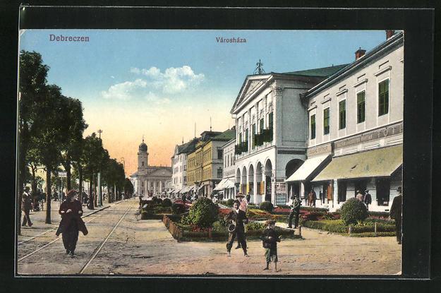 AK Debrecen / Debreczin, Varoshaza