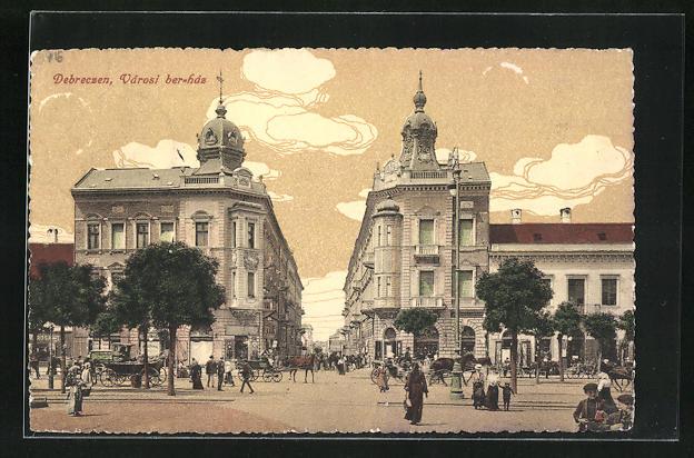 AK Debrecen / Debreczin, Varos ber-hds