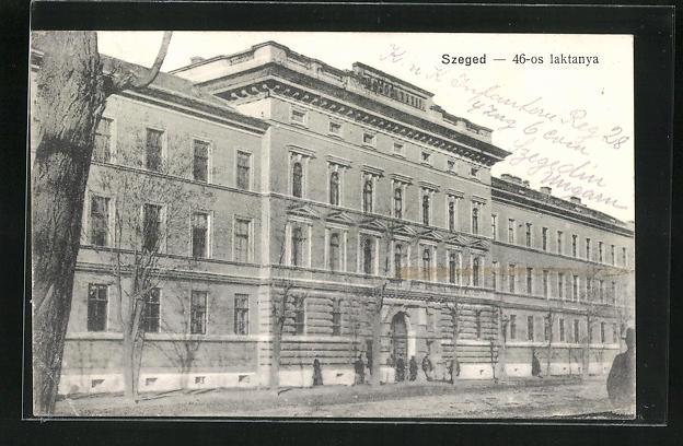 AK Szeged, 46-os laktanya
