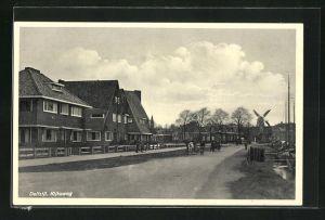 AK Delfzijl, Rijksweg, Windmühle