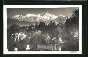 AK Kinjinjunga / Nepal, Teilansicht, Morning Light