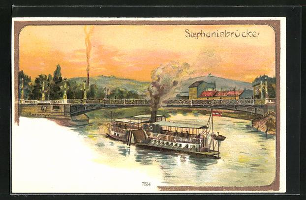 AK Wien, Stephaniebrücke