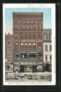AK Manchester, NH, John B. Varick Co, Varick Building