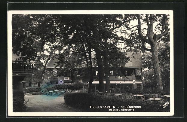 AK Wien, Tirolergarten in Schönnbrunn