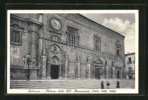 AK Sulmona, Palazzo della SS. Annunziata 1415, 1489, 1522