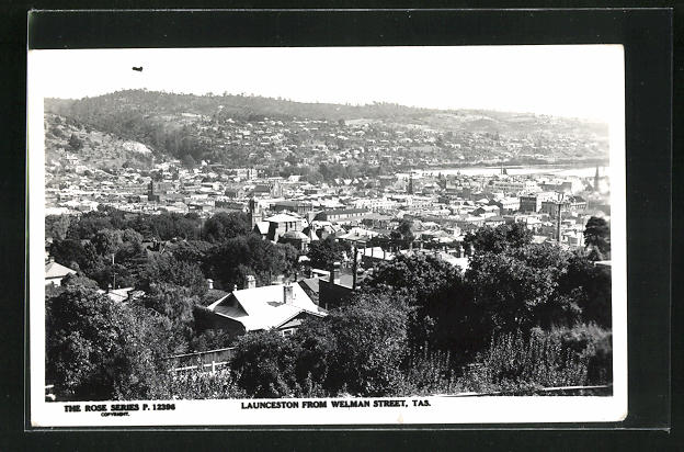 AK Launceston, View from Welman Street