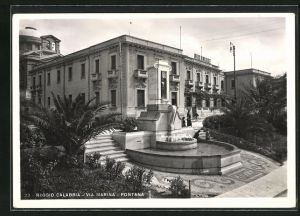 AK Reggio Calabria, Via Marina, Fontana
