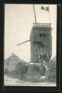 AK Sannois, Le vieux Moulin, Enttree du Restaurant