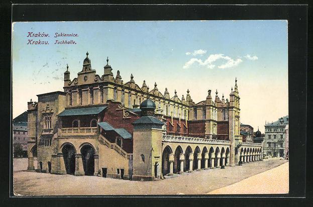 AK Krakau-Krakow, Tuchhalle