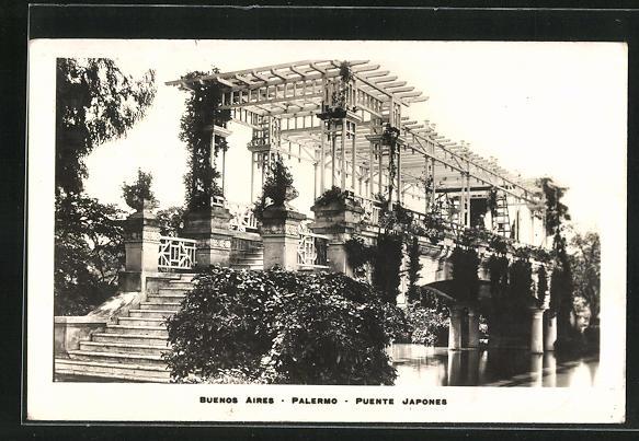 AK Buenos Aires, Palermo, Puente Japones
