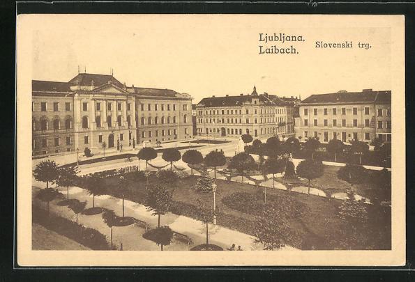 AK Ljubljana / Laibach, Slovenski trg