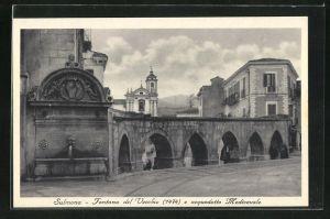 AK Sulmona, Fontana del Vecchuo e acquedotto Medioevale