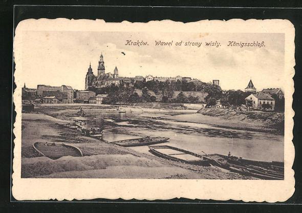 AK Krakau-Krakow, Königsschloss