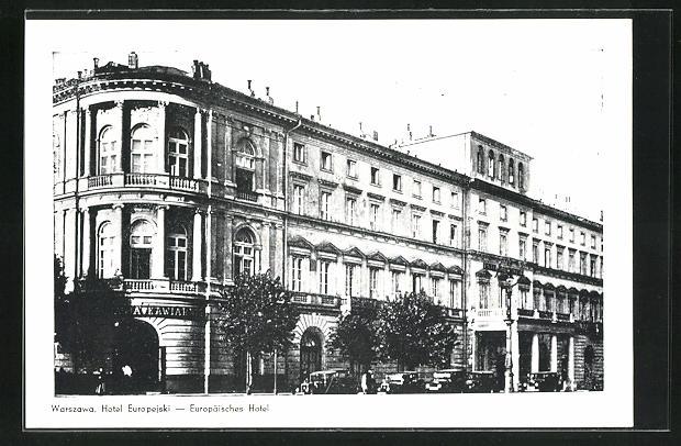 AK Warschau-Warszawa, Hotel Eurepejski
